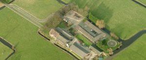 Paardenkliniek de Raaphorst luchtfoto